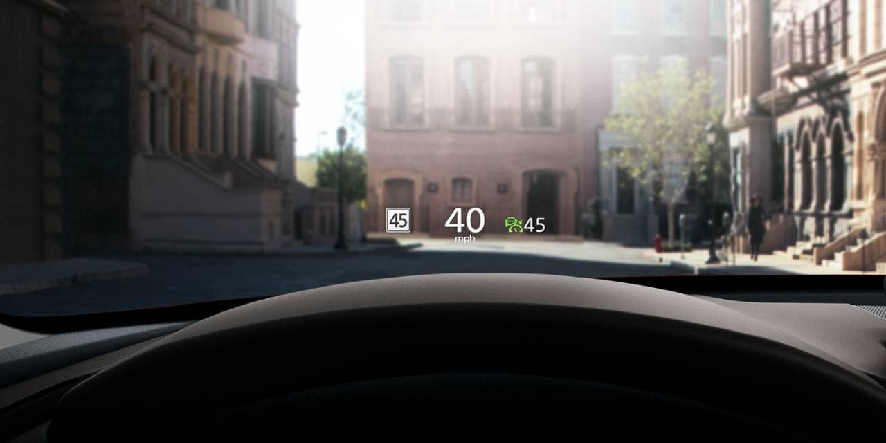 2020 Mazda CX-30 HUD Heads Up Display