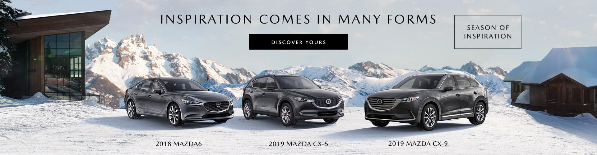 Mazda Season of Inspiration Sales Event