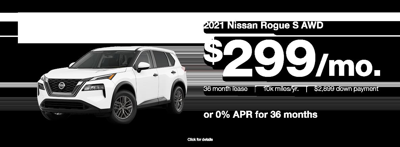 2021 Nissan Rogue Specials