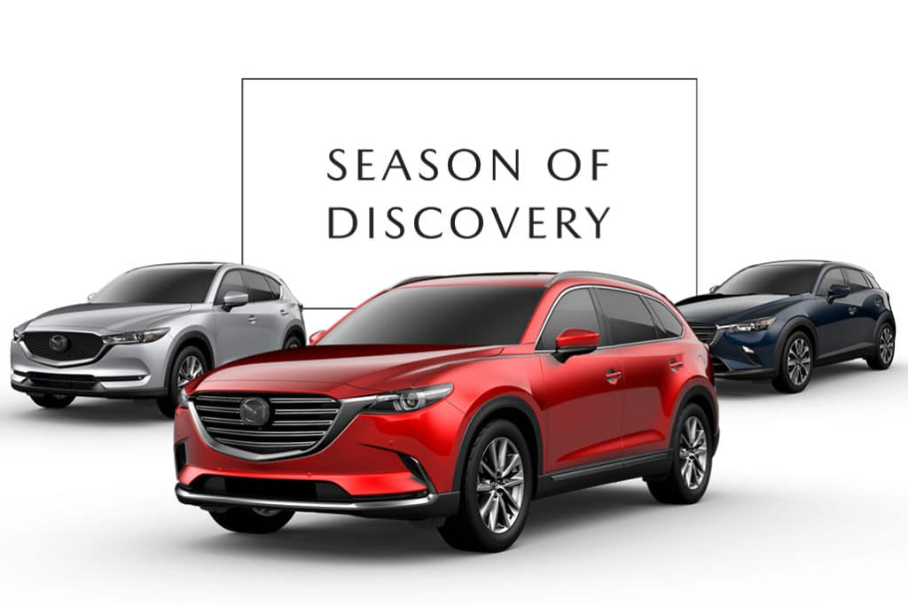 New 2019 Mazda CX-3, Mazda CX-5 and Mazda CX-9