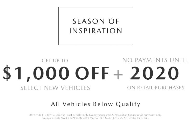 Black Friday Mazda Deals