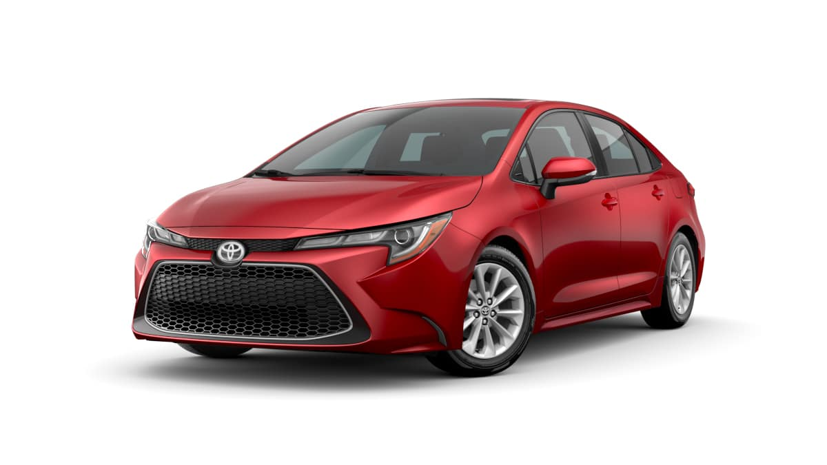 2020 Toyota Corolla Red Gas