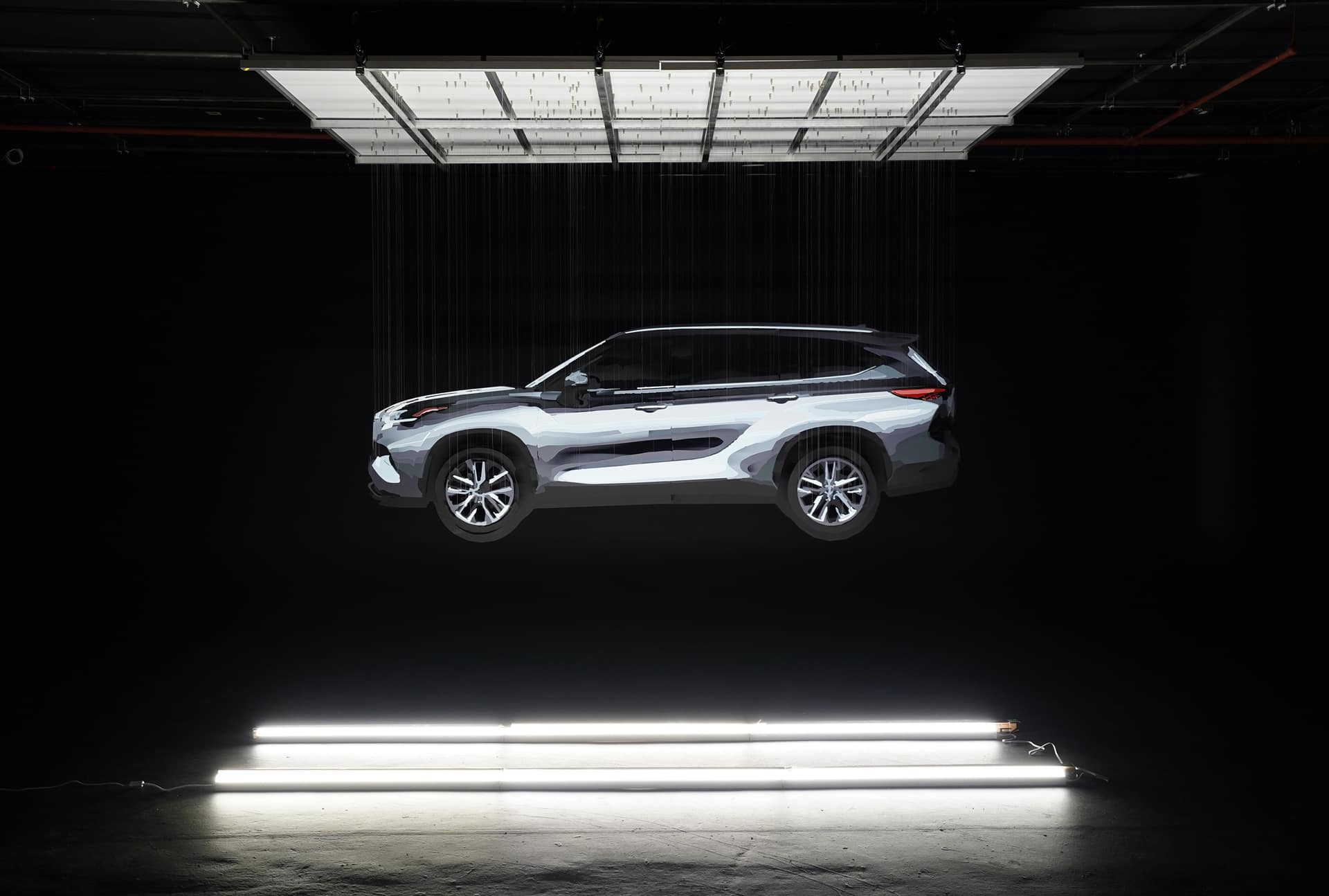 2020 Toyota Highlander Reveal Sculpture