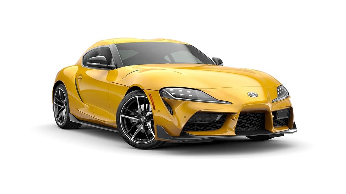 Yellow 2020 Supra GR