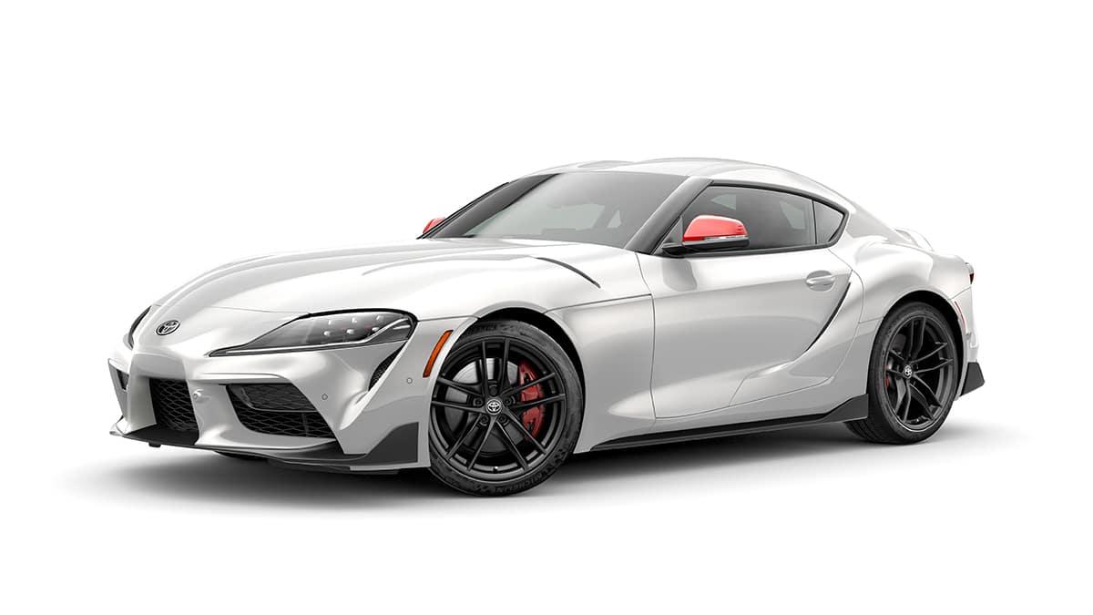 2020 Toyota Supra GR White