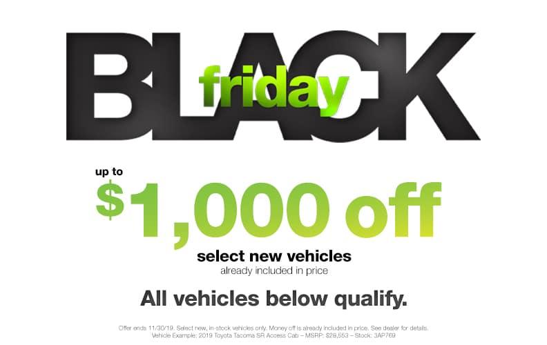 $1000 Off Black Friday Sale