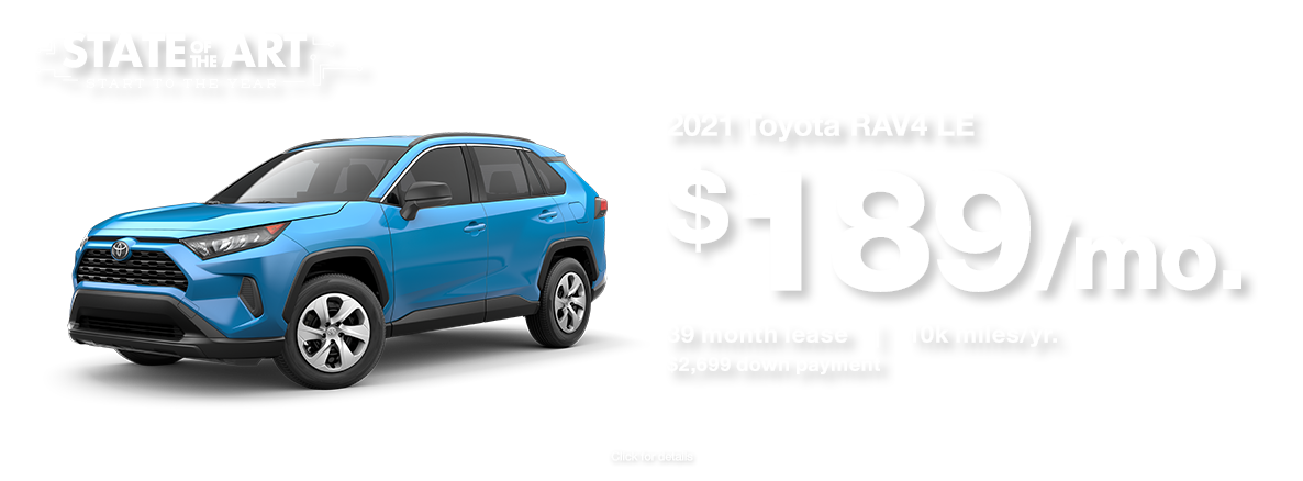 2021 Toyota RAV4 January 2021 Lease Special at Walser Toyota in Bloomington, MN