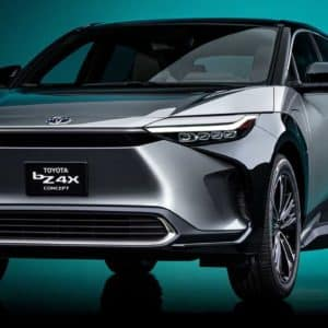 Front-End Bumper of the Toyota bZ4X Electric SUV | Walser Toyota in Bloomington, MN