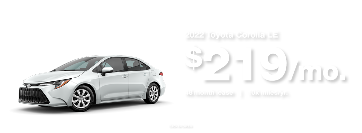 2022 Toyota Corolla Available for sale