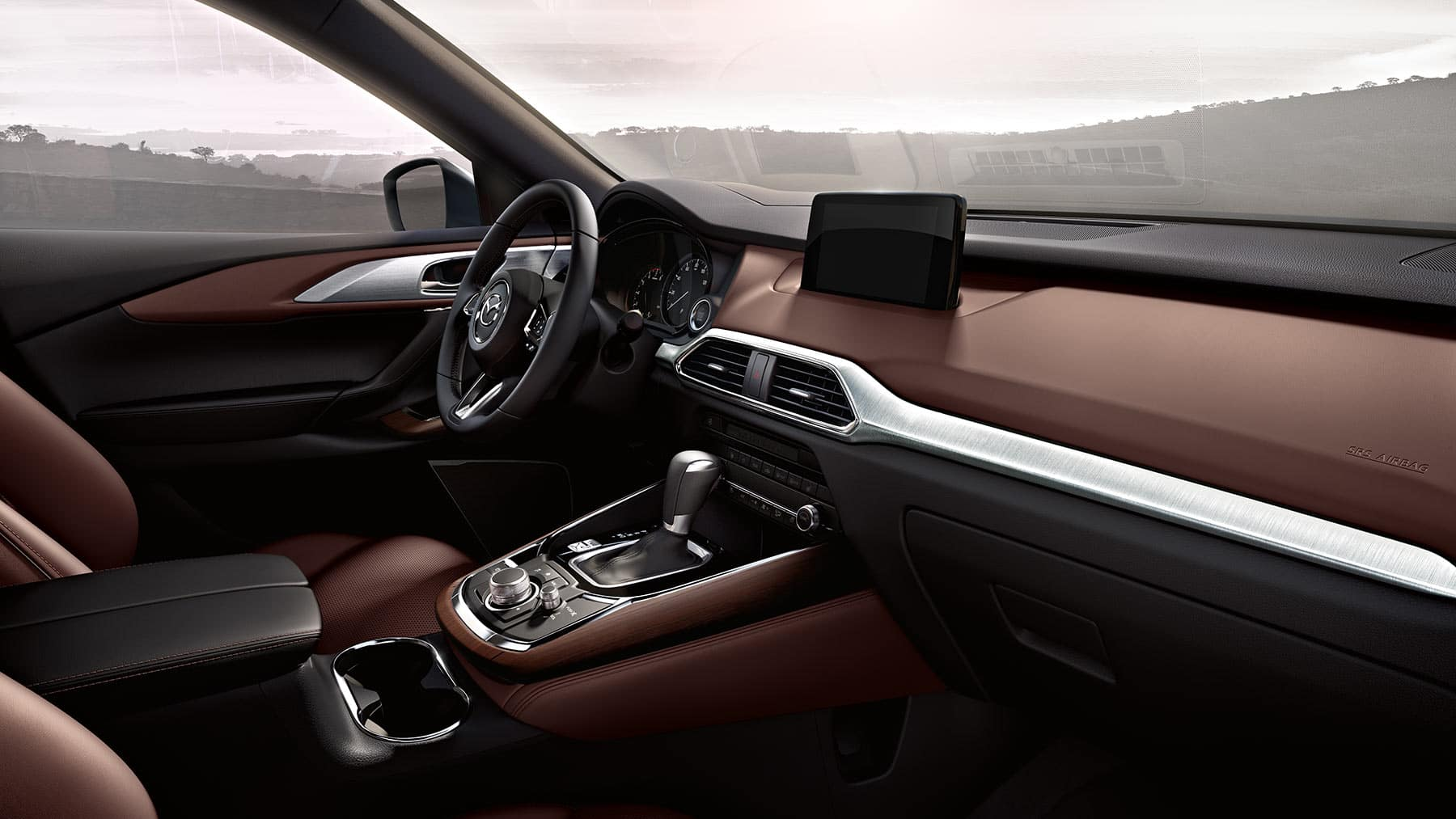 picture of 2020 mazda cx-9 interior