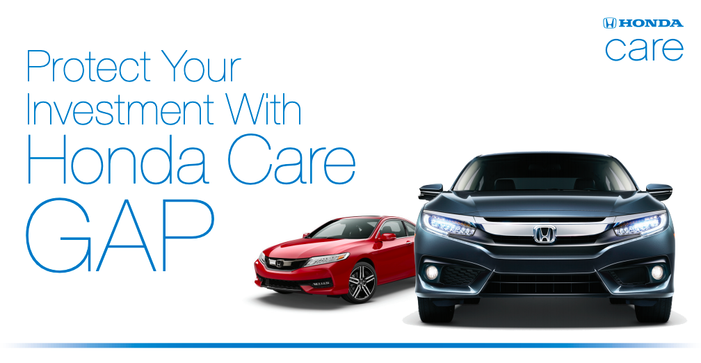 Protect your investment with Honda Care GAP