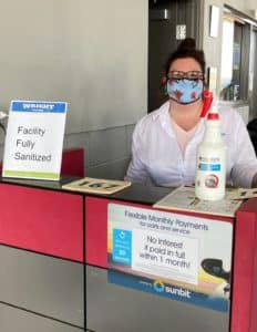 We're still greeting you with a smile at Wright Honda