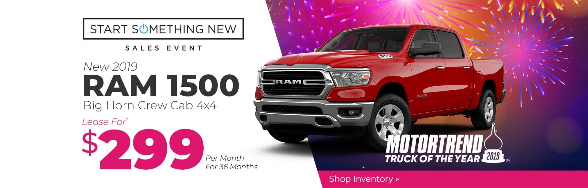 All-New RAM 1500 Lease Special near Terre Haute, Indiana.