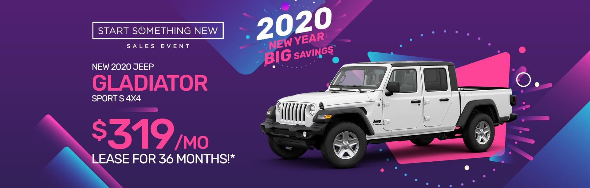 New Jeep Gladiator Dealer near Terre Haute.