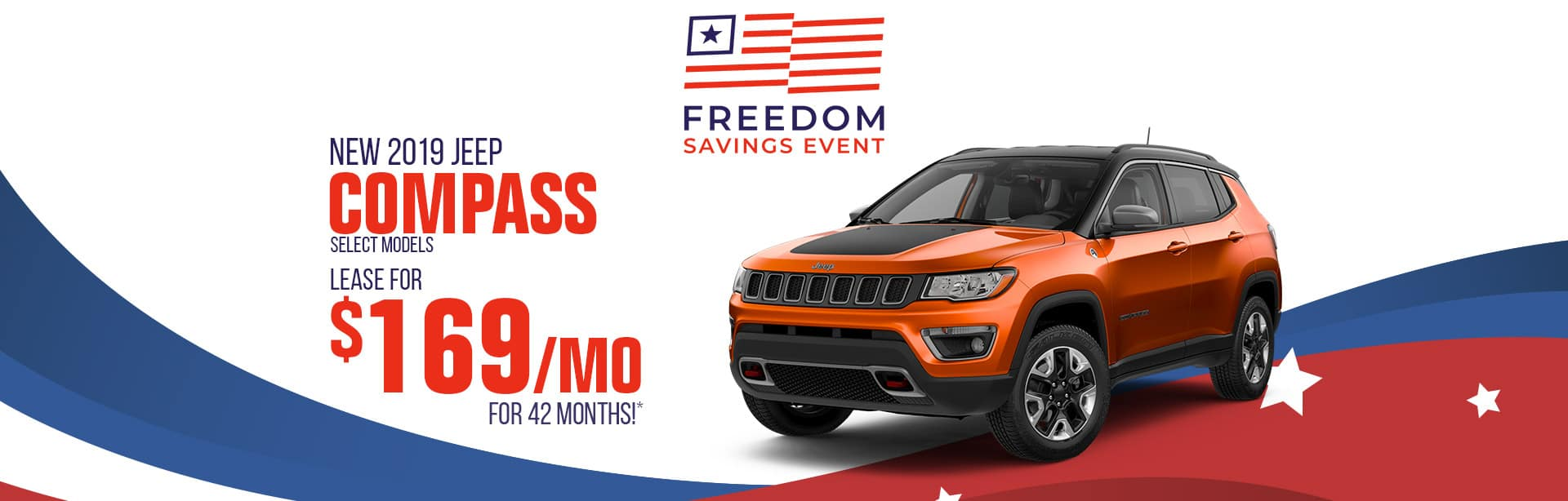 Lease Special on a New Jeep Compass near Terre Haute, Indiana