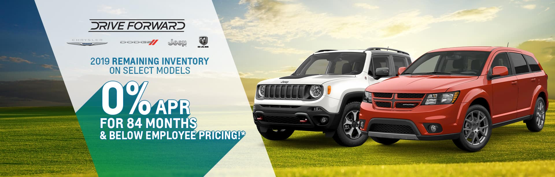 Special Financing for 84 months on Select Models at York CDJR Brazil