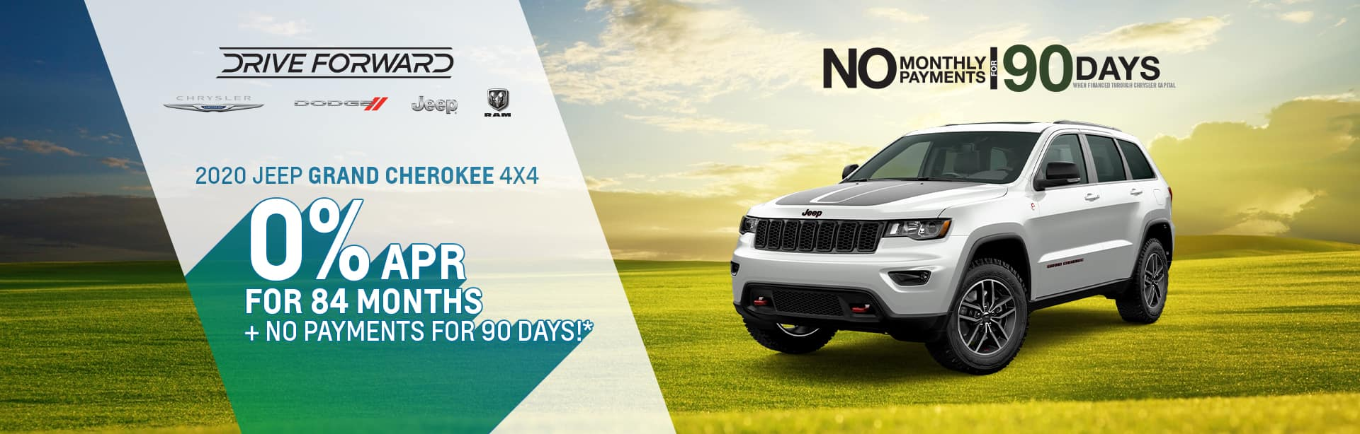 Big Savings on a New Grand Cherokee near Rockville, Indiana