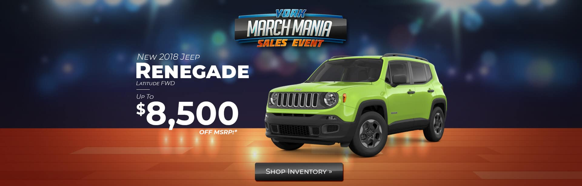Save on a Jeep Renegade in Terre Haute, Indiana.