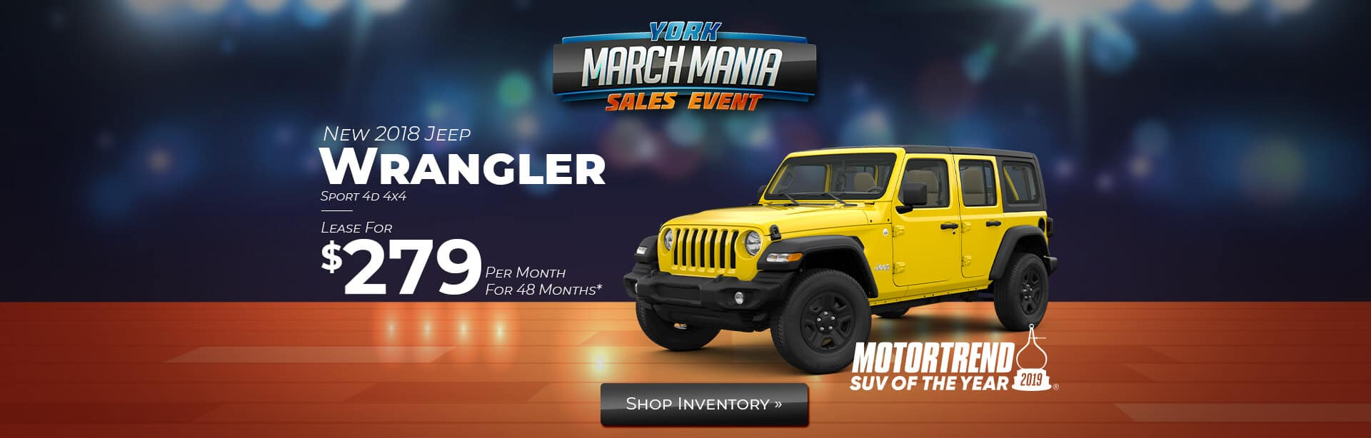 Jeep Wrangler Sport Lease Deal near Terre Haute, Indiana.