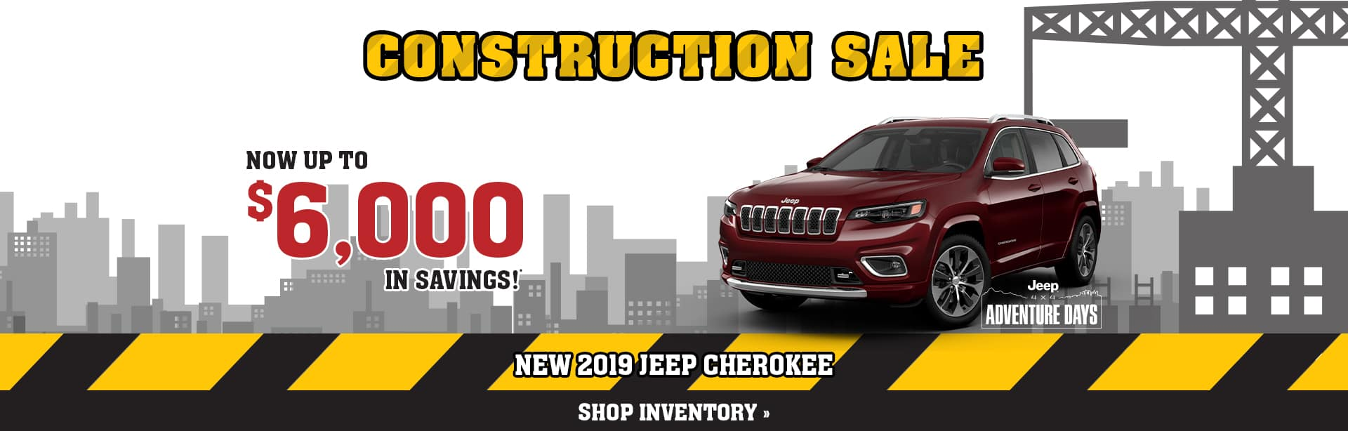 Best Deal on a New Jeep Cherokee in Brazil, Indiana