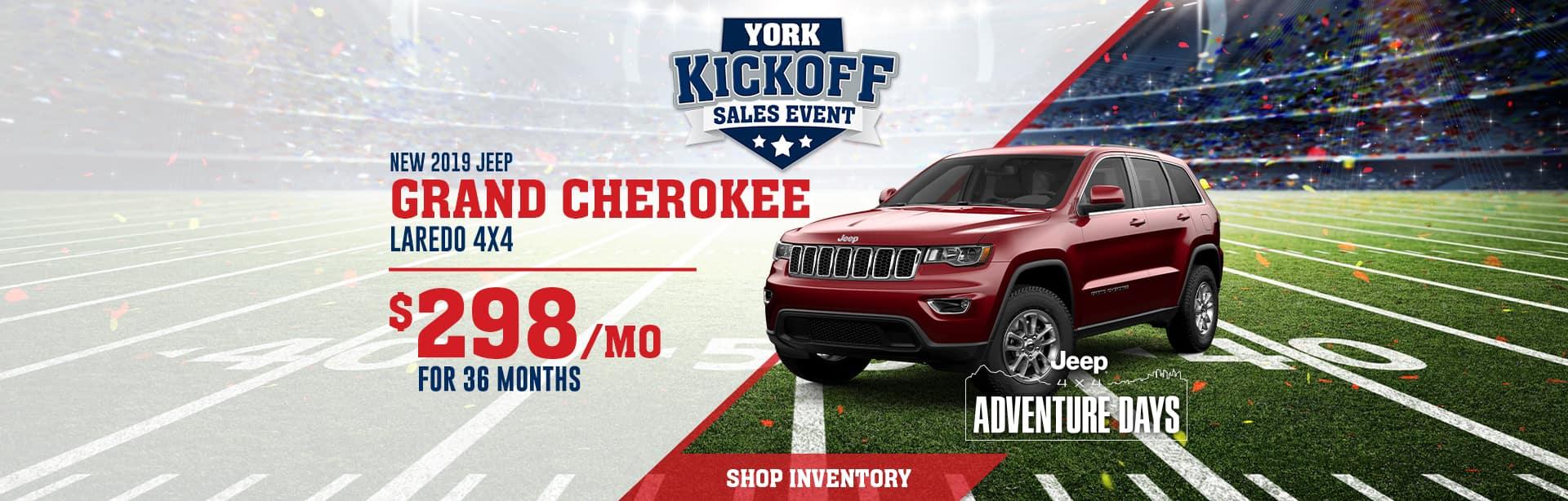 Jeep Grand Cherokee Dealer near Terre Haute, Indiana.