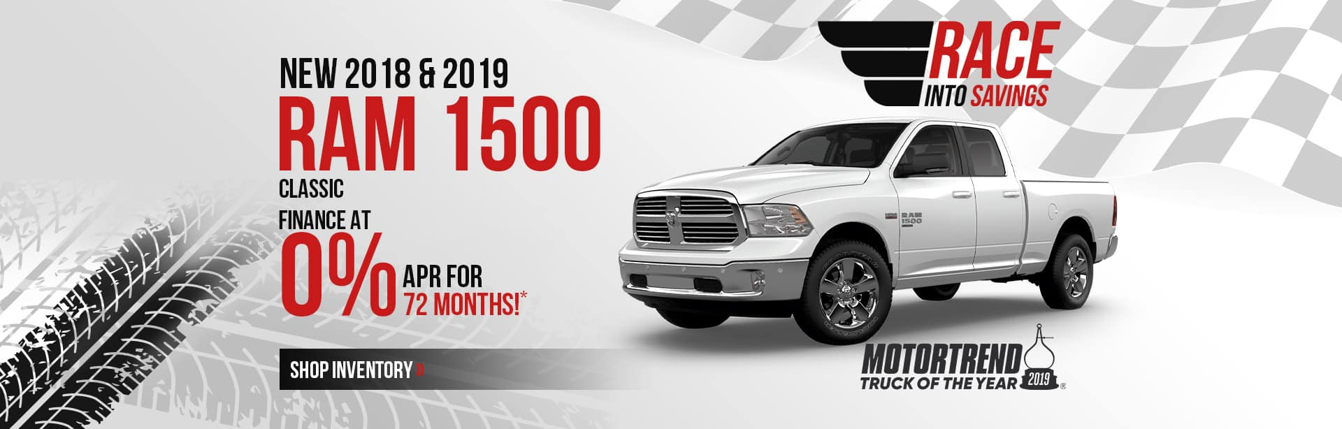 New RAM 1500 Classic at 0% APR for 72 months near Terre Haute.