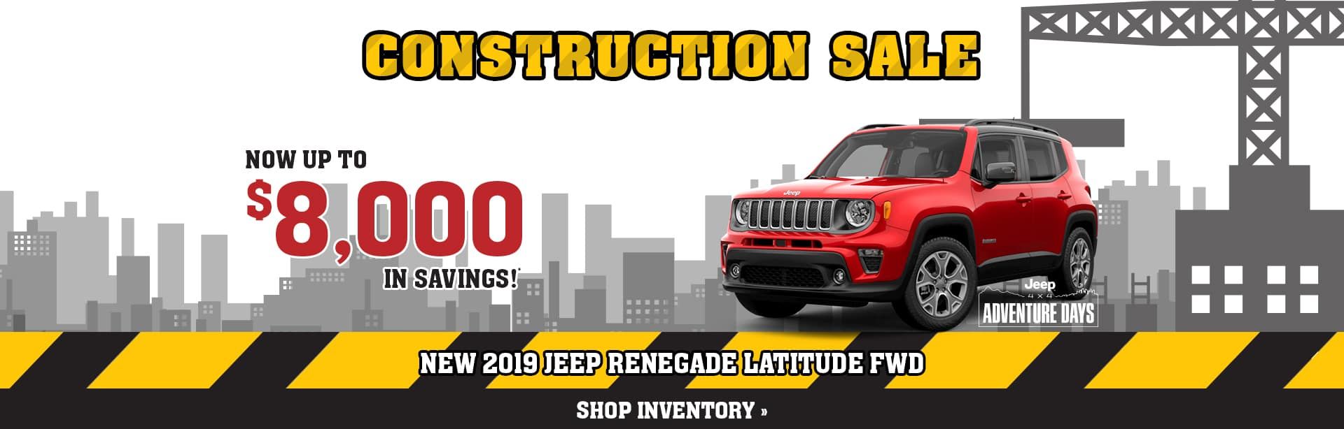 Best Deal on a New Jeep Renegade near Greencastle, Indiana
