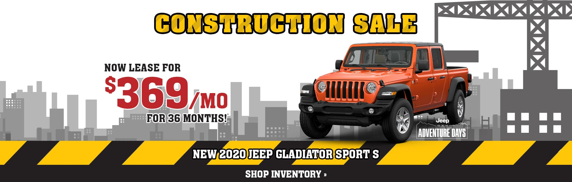 Lease an All New Jeep Gladiator in Brazil, Indiana