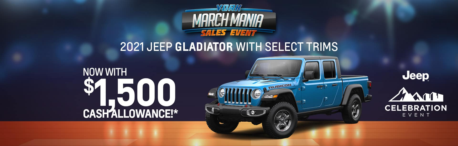 2021 Jeep Gladiator Rebate offer offer near Indianapolis IN