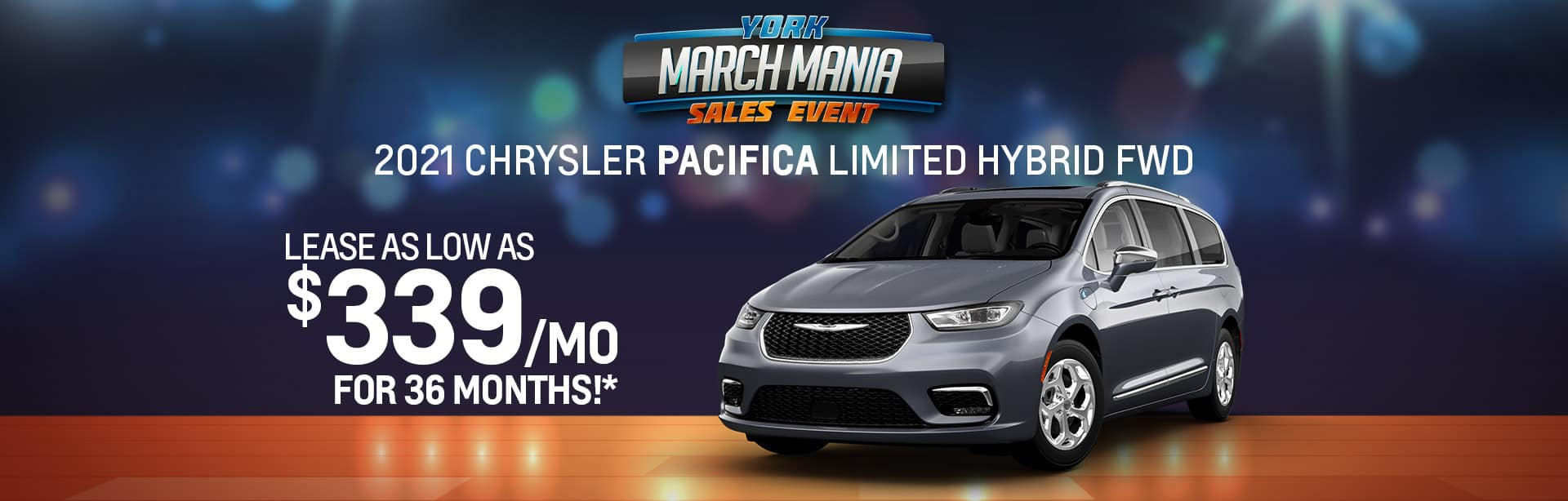 Best lease offer on a new 2021 Chrysler Pacifica near Indianapolis IN