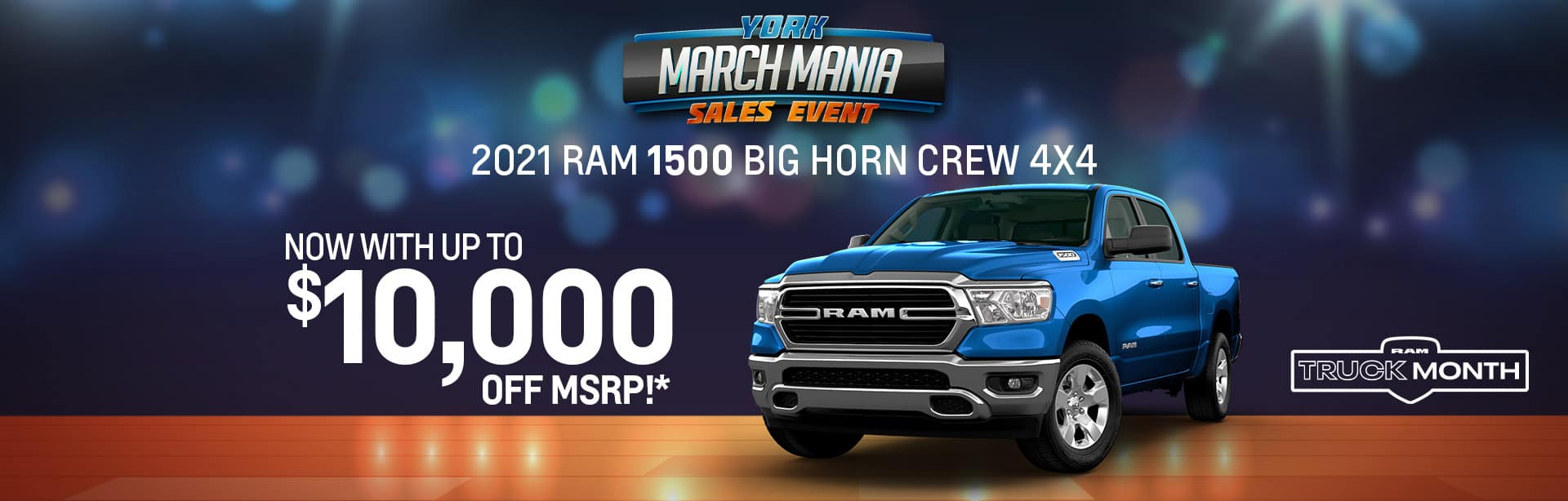 2021 RAM1500 Big Horn Rebate offer offer near Indianapolis IN