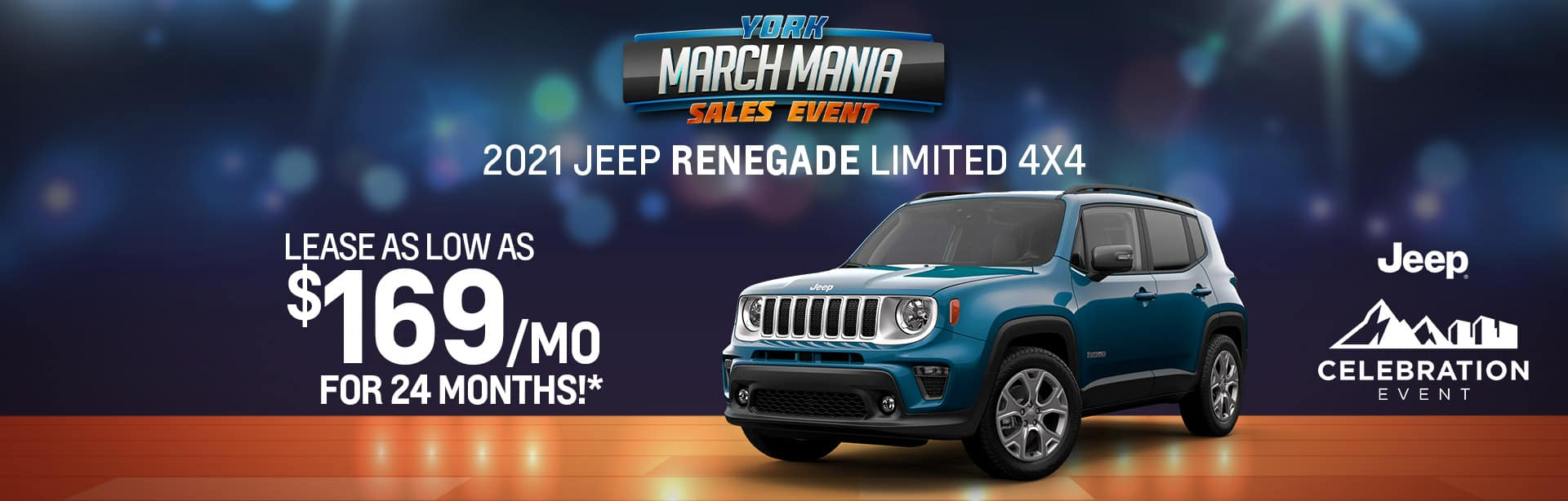 Best lease offer on a 2021 Renegade near Indianapolis IN