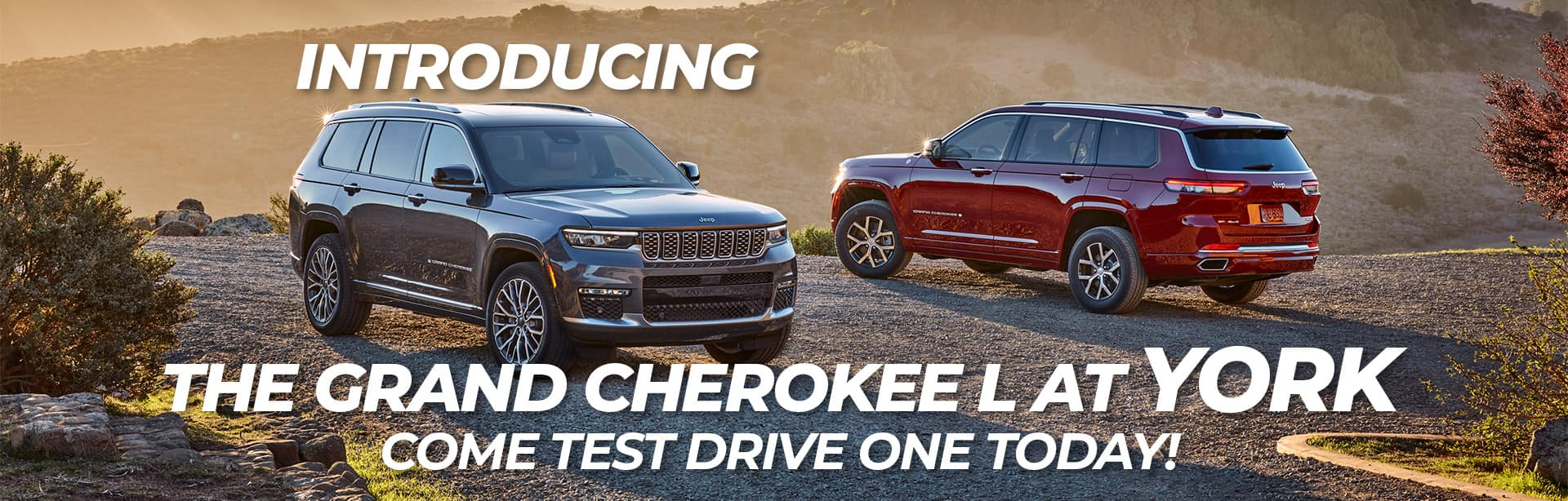 The Grand Cherokee L now In-Stock at York