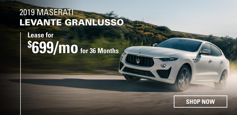 2018 Maserati's