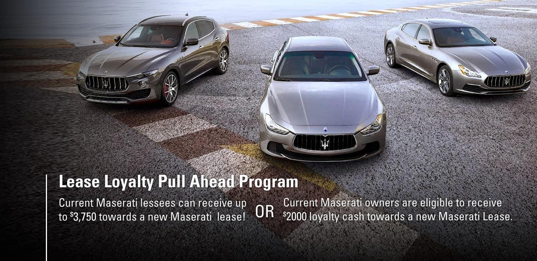Maserati Special Offer