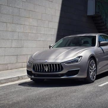 2019 Maserati Ghibli on the street