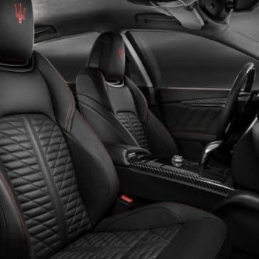 2019 Maserati Quattroporte interior seating