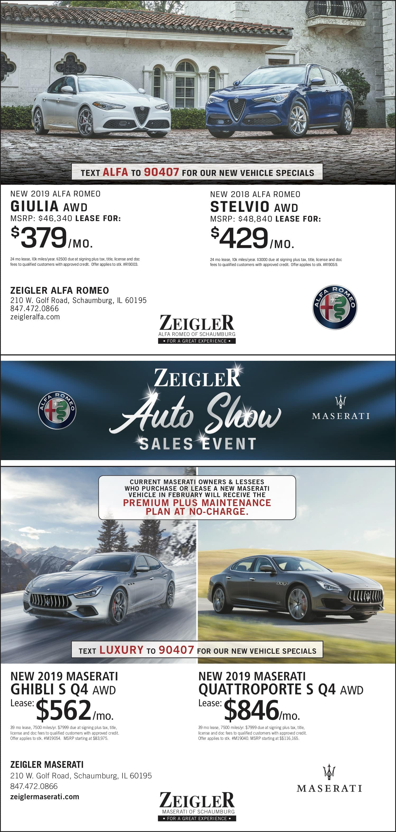 Auto Show weekly ad