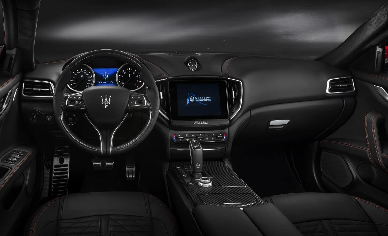 2019 Maserati Ghibli interior dashboard