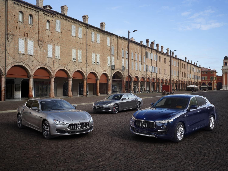 2019 Maserati lineup