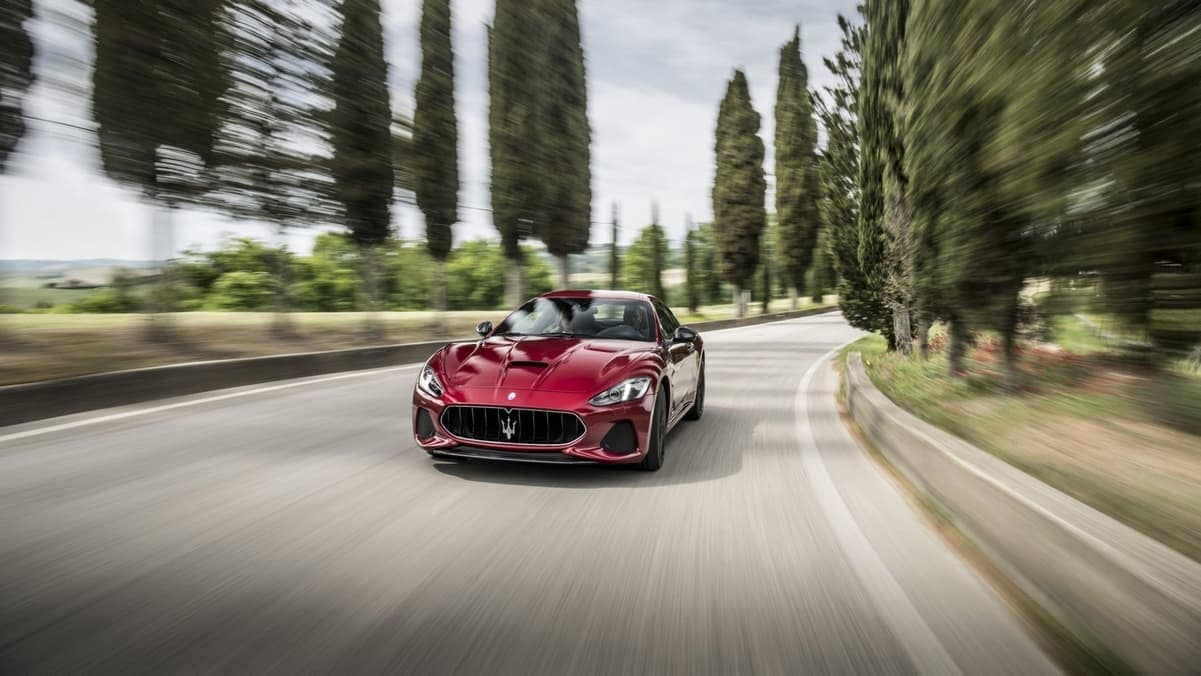 2019 Maserati GranTurismo driving performance