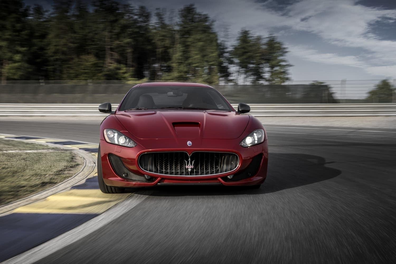 2019 Maserati GranTurismo driving on track