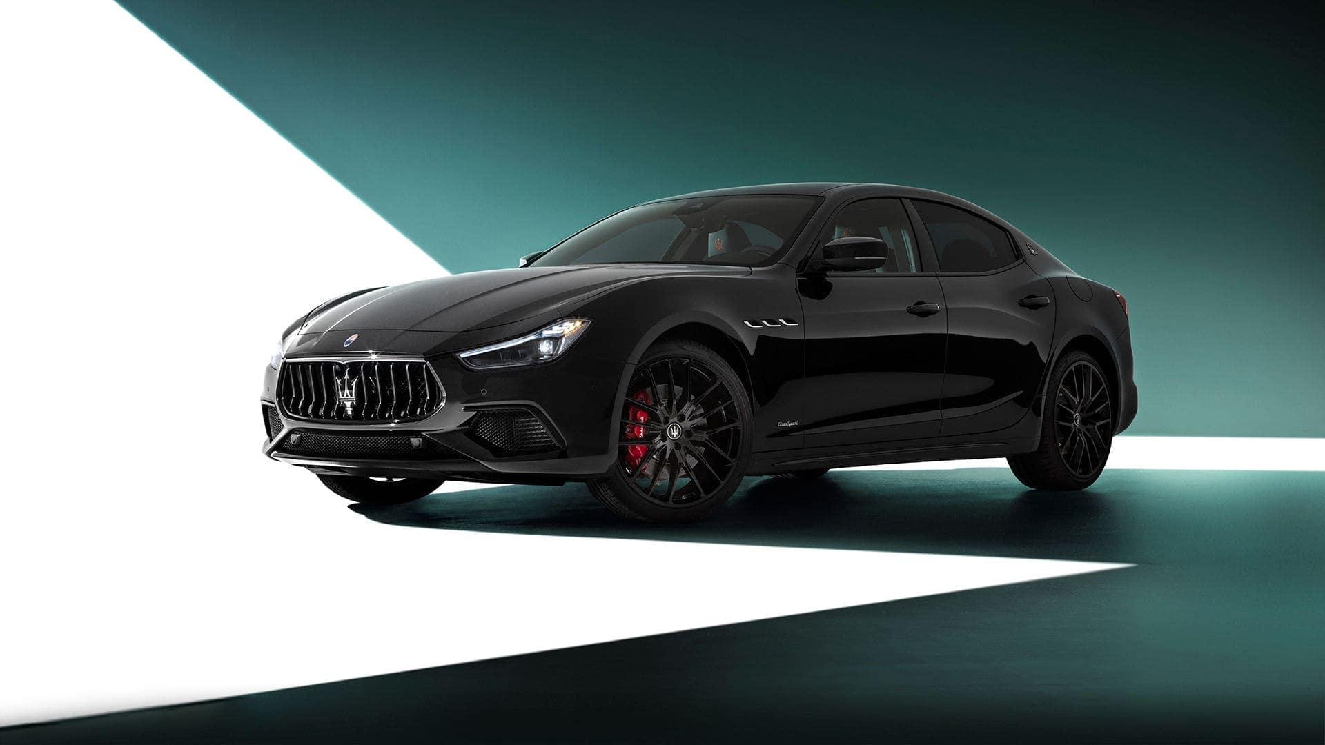 Maserati Ghibli lease
